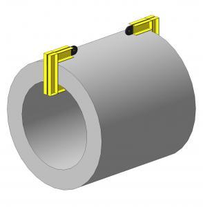 Захват для рулонов стали (парный)