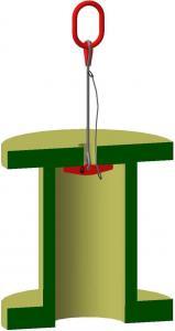 Захват для вертикального подъема барабана (канатный)