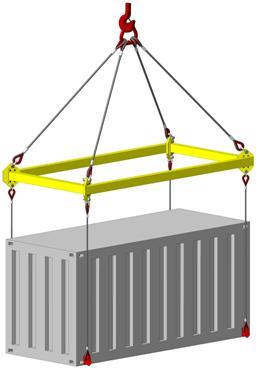 Траверса для контейнеров