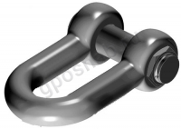 GN ROPE D15 D-SHACKLE WITH SAFETY PIN